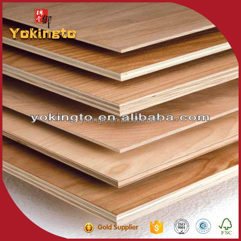 Film faced plywood sheet for laser die cutting machine