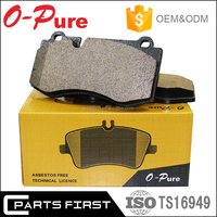 ISO9001/TS 16949 All China Auto Parts Car Break Pad Ceramic Brake Pads Factory For Korean Japanese European American Cars