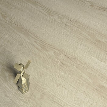12mm, waterproof, light grey/ white laminate flooring with underlay