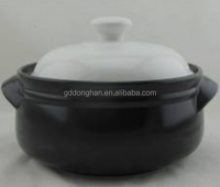 China manufacturer supply heat proof cookware pot with white lid