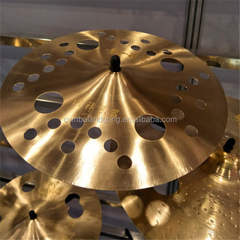 "O-zone cymbals for 12"" cymbals with B20 material on hot sale"
