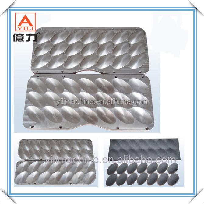 Aluminum Moulds for Shaving Bra Foam Cookies