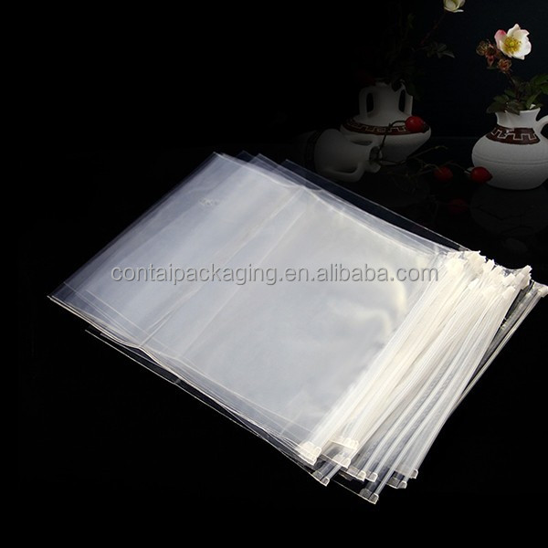 Clear Custom LDPE HDPE Plastic Ziplock Bag /Factory new products household opp plastic bag/ foldable garment bag dust cover