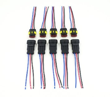 24V automobile 4 pole wiring harness