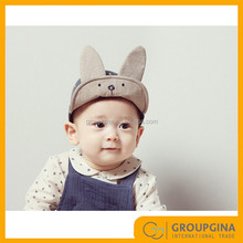 2017 Wholesale Cute Bunny with Ears Lovely Kids Baseball Hat