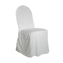 Very Nice Round Top Polyester Wedding Chair Covers