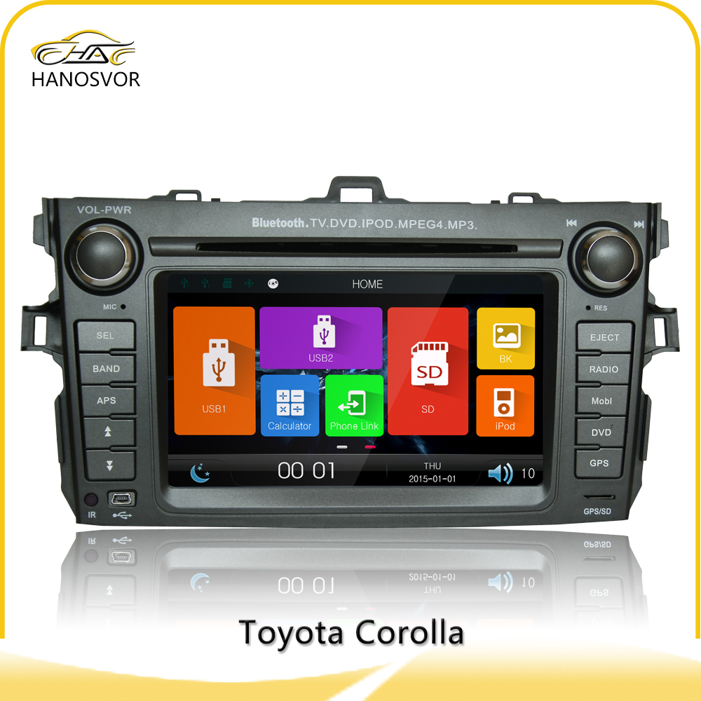 multimedia navigation system used toyota corolla car for sale