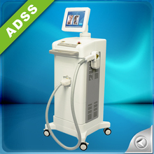 2018 ADSS most popular 3 wavelengths 755nm,808nm,1064nm Sprano ice diode laser for hair removal machine