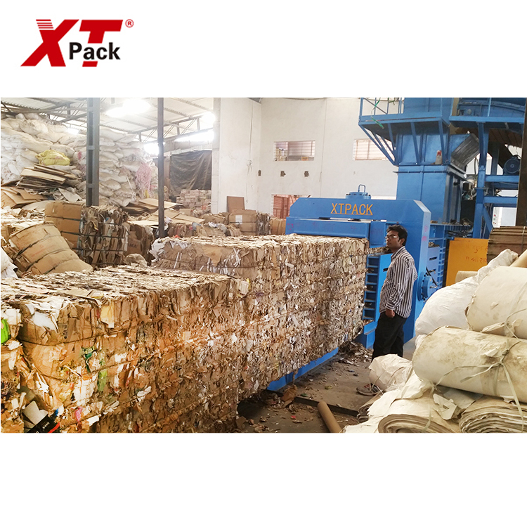 XTPACK-Full Automatic Waste Carton Baler Machine
