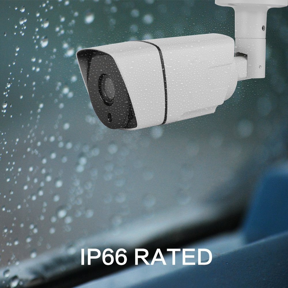 Mini housing popular double compression security system  outdoor waterproof  bullet  5 megapixel CMOS  HD CCTV IP cameras