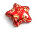 Star Shaped Red Gift or Candy with any custom printed Container storage Tin Box
