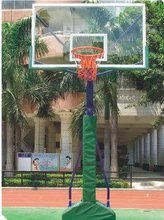 removable Basketball Stand With Glass Basketball Backboard