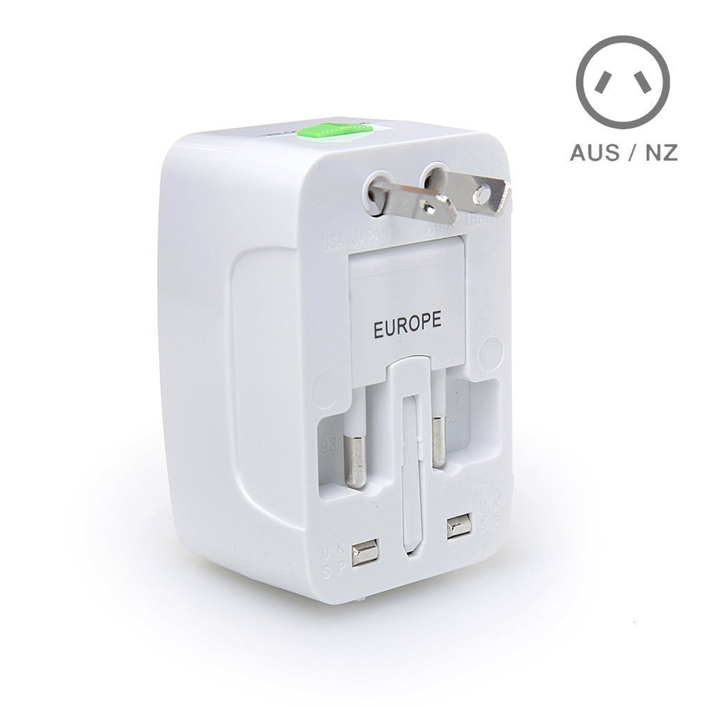 AU UK US Canada To EURO EU 2pin travel adaptor plug converter adapter