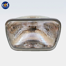 Square Shape 24V Power 75W Sealed Beam Headlight