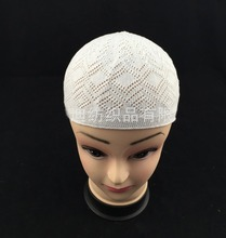 NB-287 Wholesale Mix Color Cotton Knitted Skull Beanie Hat Takke Taqiyah Crochet Muslim Prayer Cap