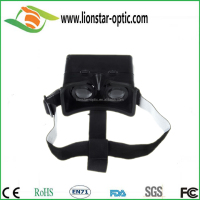 Plastic vr 3D headset with low price, high quality VR 3d glasses