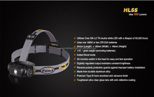 XM-L2 T6 900lm 3.0V 7.8V 5-Mode Waterproof LED Headlamp (1x18650/2xCR123A)