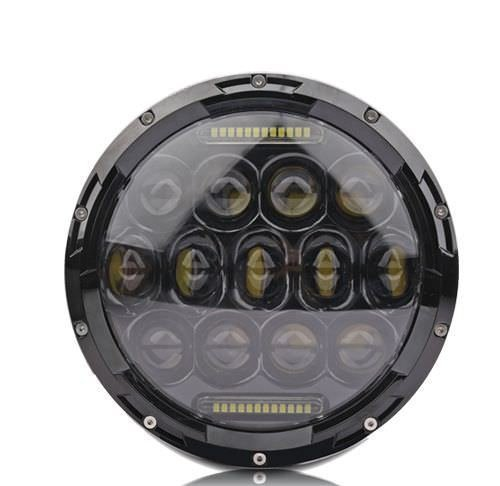 Newest high low beam 75W round 7 inch led headlight for jeep