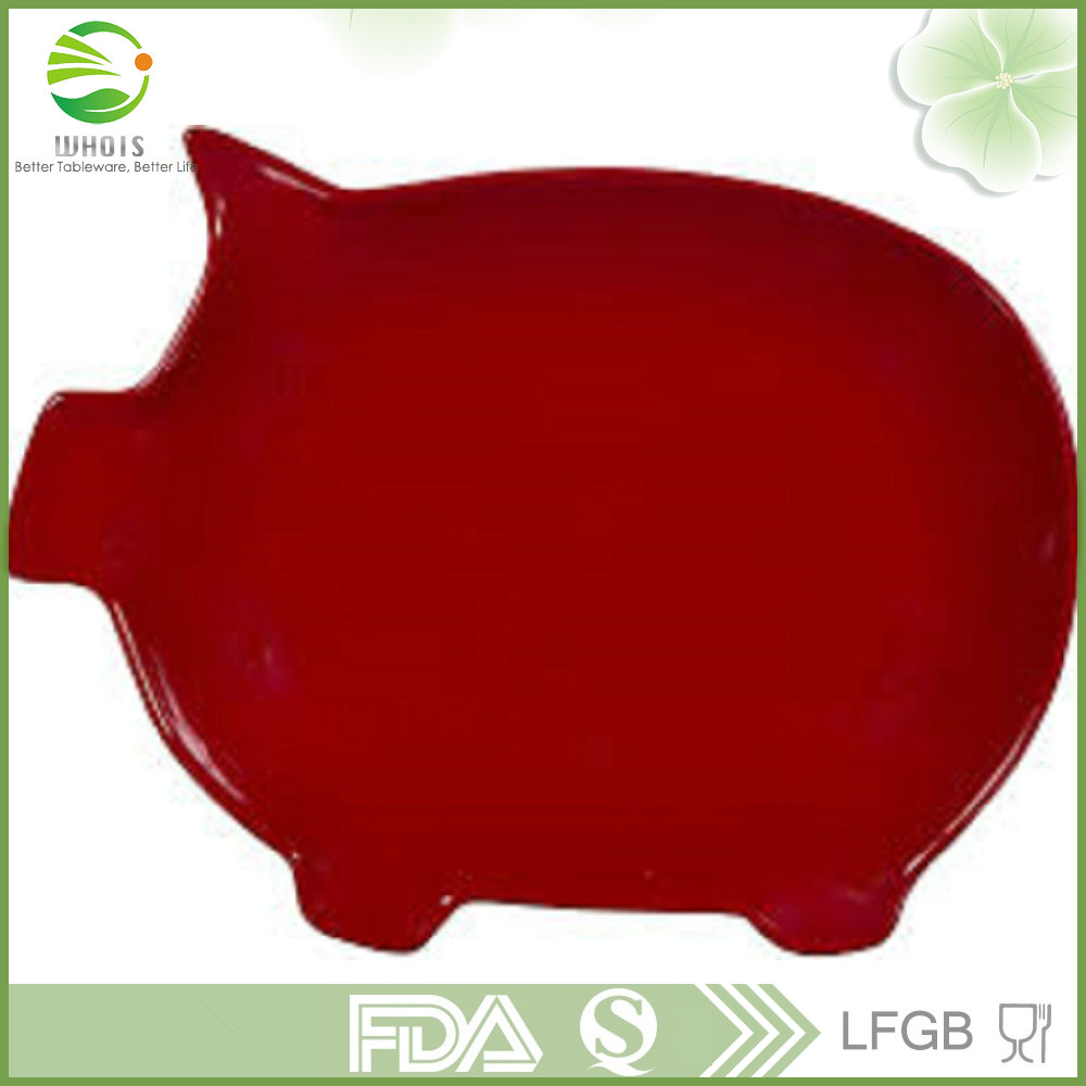Innovative Products 2017 MMPL0423-0343 Pig Shaped Plates