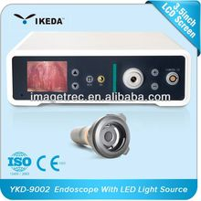 CE and ISO 80W LED light source with Freeze WB and DNG function used in operation and ENT field endoscope