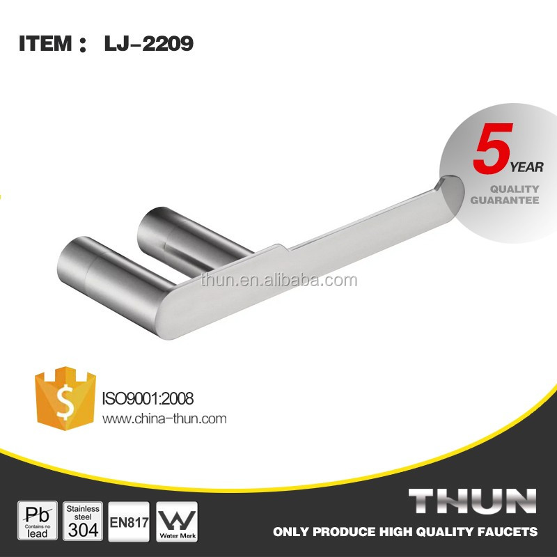 Thun Stainless Steel 304 Paper Towel Holder Decorative Bathroom Tissue Rack
