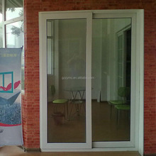 pvc plastic frame covering panel glass door designs