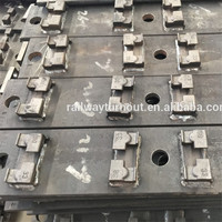 Manufacturing Steel Railway Rail Turnout Tie