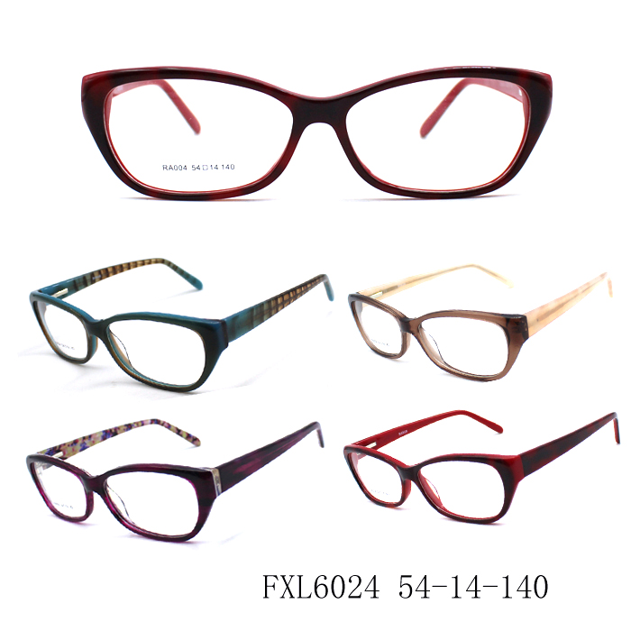 2016 high quality acetate optical frame and colorful