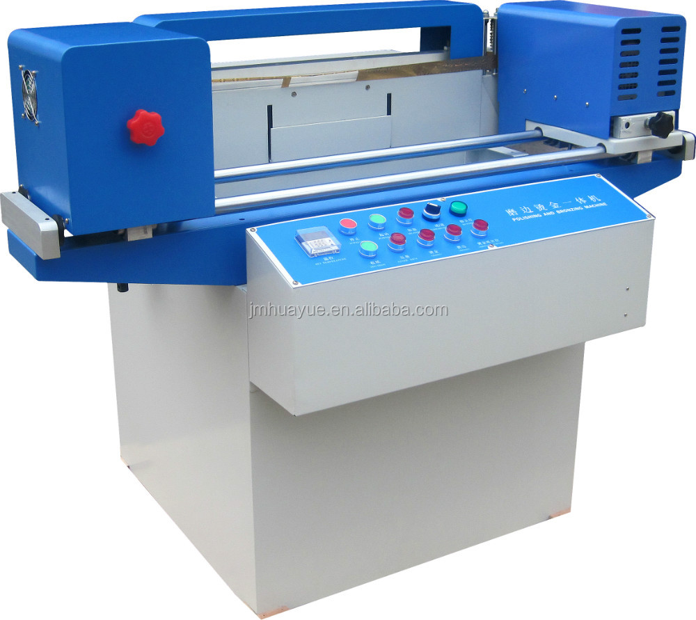 EHY-A good price book edge making small gold machine