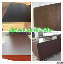 18mm film faced shuttering buliding construction materials/film faced plywood