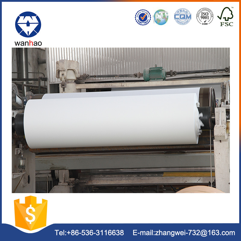 100% wood pulp white kraft paper roll for packaging bags