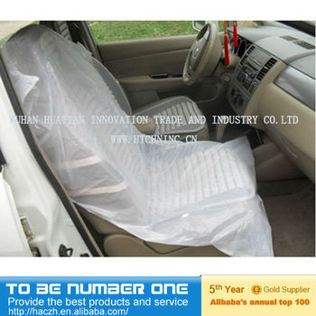 Disposable Plastic Car Seat CoversDisposable Car Seat
