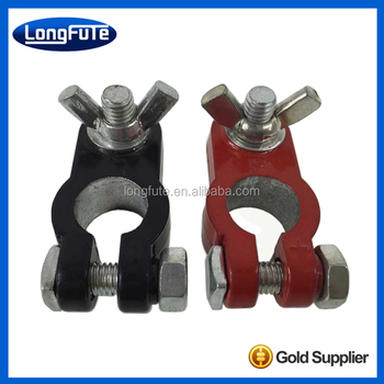 Brass wire Auto Battery Terminal connector Crimp positive & negative battery terminal connector
