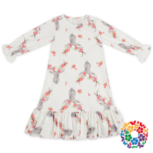 Fancy Frocks For Baby Girls Party Dress Design Long Sleeve Baby Girl Dresses