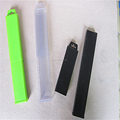 Long telescopic plastic packaging boxes