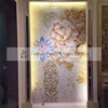 MB SMM150 interior wall mural artistic mosaic tile glass mosaic picture flower mosaic