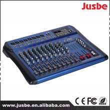 Jusbe JB-L12 usb stage music mixer 12 channel power audio mixer sound