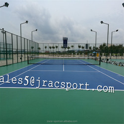Full PU Sport Court Surface Floring Badminton Court Flooring multi-purpose court coating paint