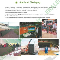 hot new product for 2013 p20 stadium led screens