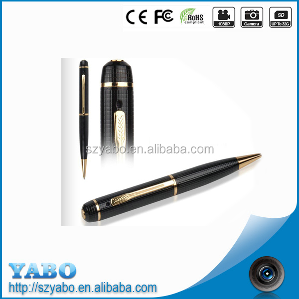 Digital Hidden camera pen Mini 1920*1080 Pen camera support max 32 GB memory card corn pen camera