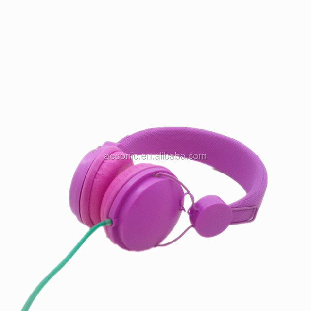 2017 newest stylish headphone , wired headset , colorful headset .music headphone