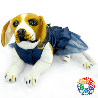 Newest Design For dog clothing , Tulle Hem-Line factory dog clothing , Posh Chiffon Pet Dog Tutu Dress Pet Clothing