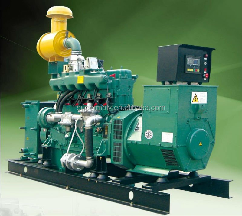 Factory price methane fueled generator set, high quality