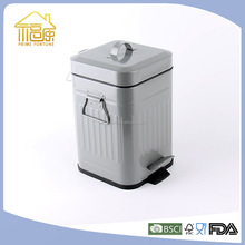 2016 Hot selling products household unique pedal trash bin dust bin