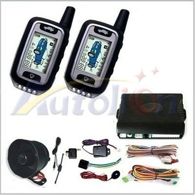FSK 2 Way Car Alarm Security System CLT-0202
