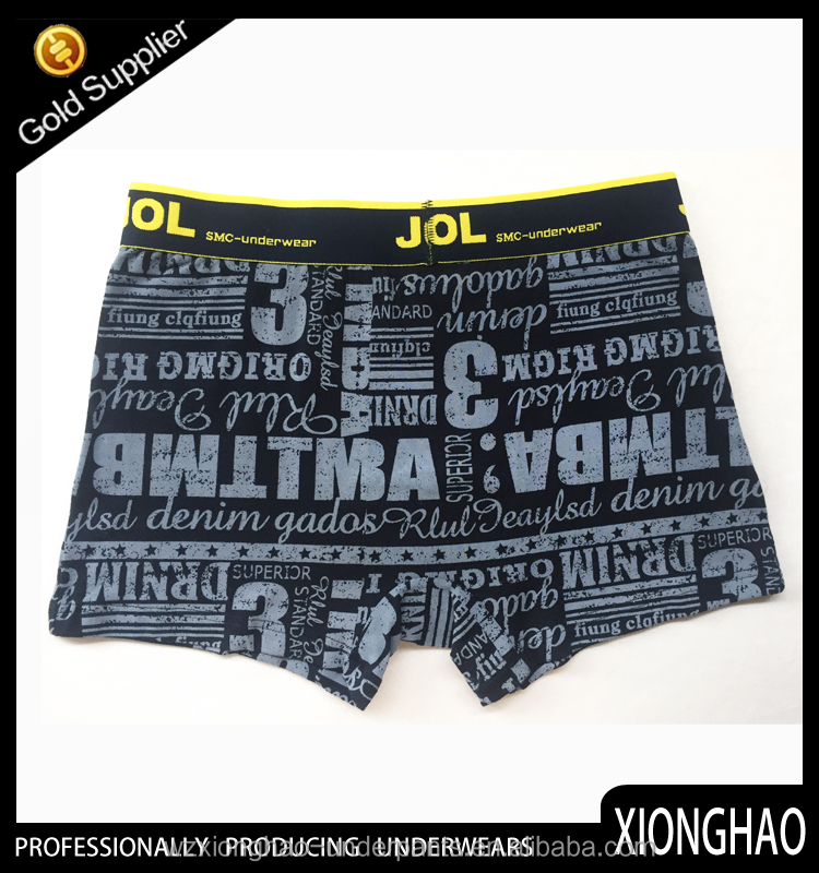 Different sizes for original authentic apparel underwear