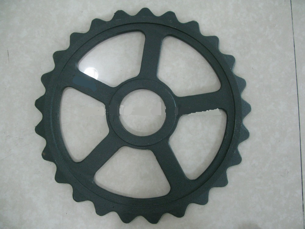 Cultivator iron wheels
