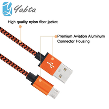 Alibaba best sellers 3 ft/6 ft/10 ft Stripe Braided USB cable for IPhone