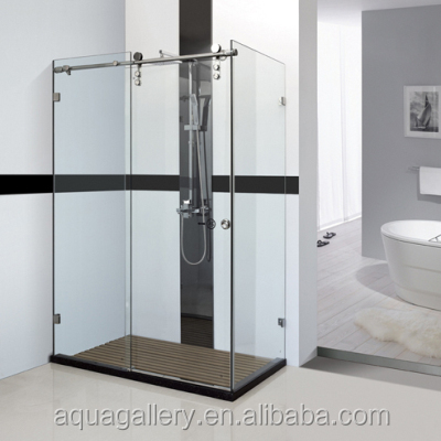 Simple Glass Shower Cubicle