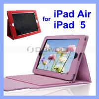 Leather Keyboard Case for iPad Air 5 Bluetooth Keyboard Case